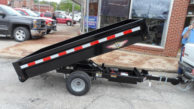 2020 H and H Trailer 4.5 X 8FT HOMEOWNER DUMP TRAILER