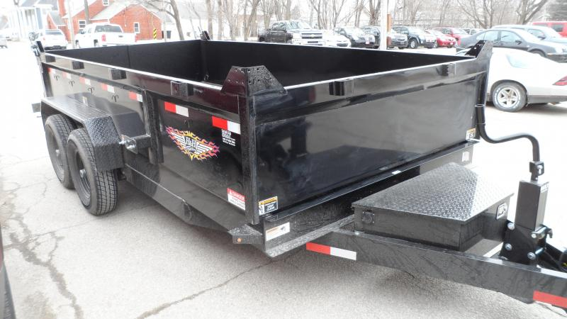 2020 H and H Trailer 83X14 DBW DUMP BOX 14K
