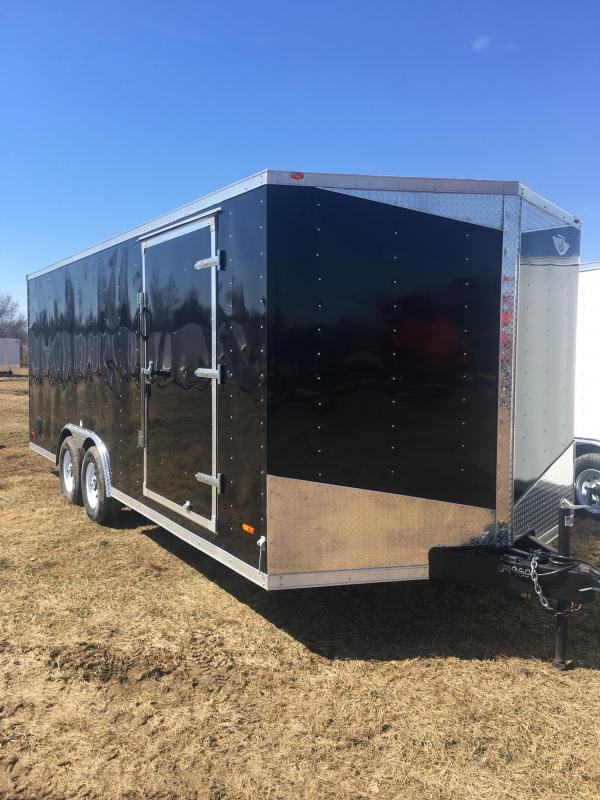 2019 RC Trailers RC20CARHAULER Enclosed Cargo Trailer