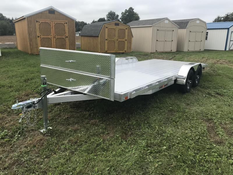 "20' x 83"" Sport Haven Aluminum Car Hauler"