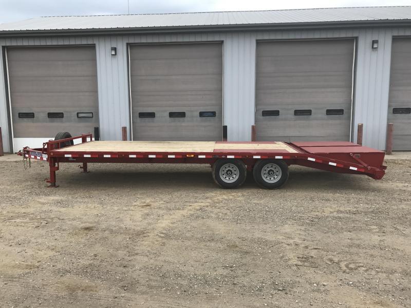 2018 Load Trail 8 10 Lb I-beam Equipment Trailer