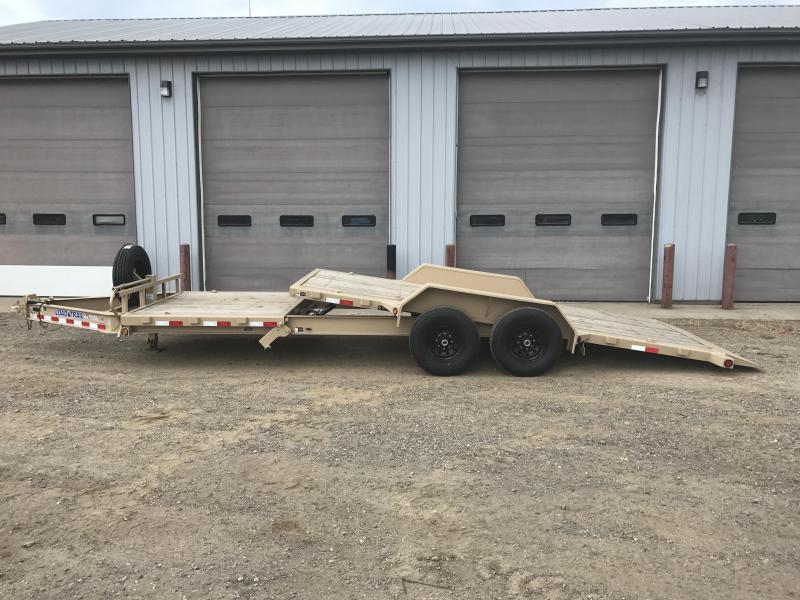 2018 Load Trail 8 I-beam Frame Tilt-n-go Tilt Deck Equipment Trailer