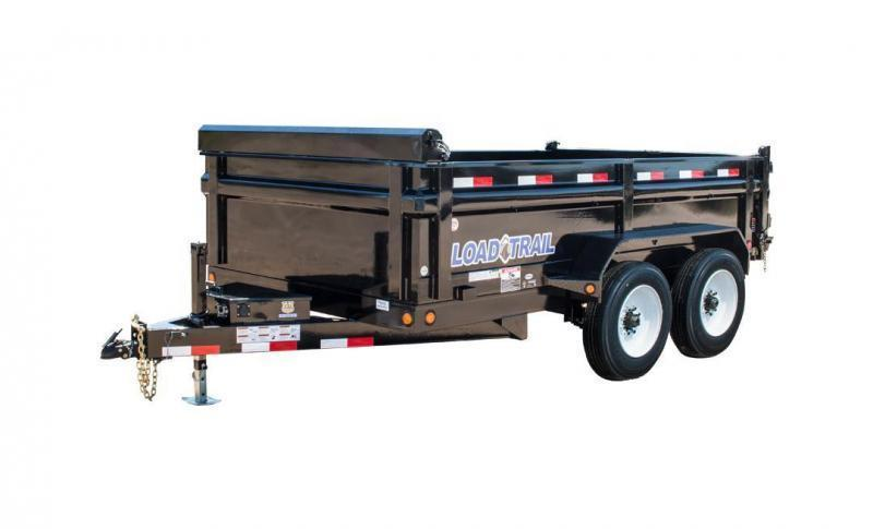 "2018 Load Trail DT16 - Tandem Axle Dump 16000 Lb w/ 6"" Channel Frame"