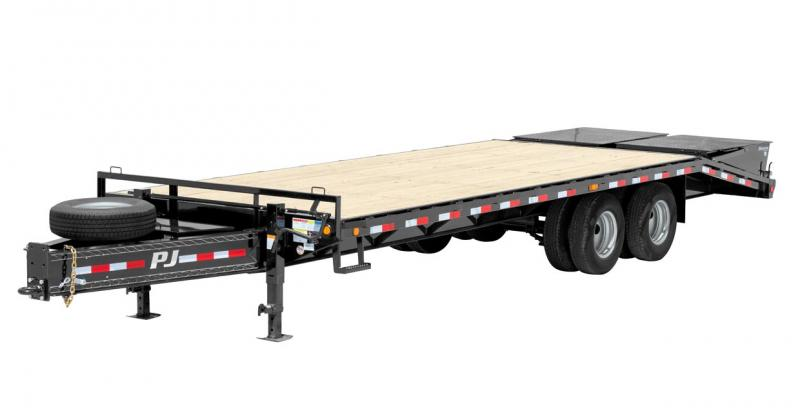 2018 PJ Trailers Classic Pintle with Duals (PD) Flatbed Trailer