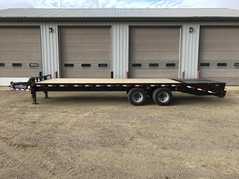 2018 Load Trail 12 22 Lb I-beam Pintle Hook Heavy Duty Equipment Trailer