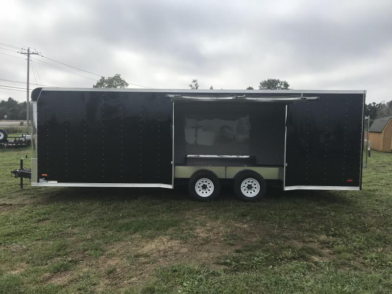 8.5 x 24 MTI Enclosed Car Hauler 2019
