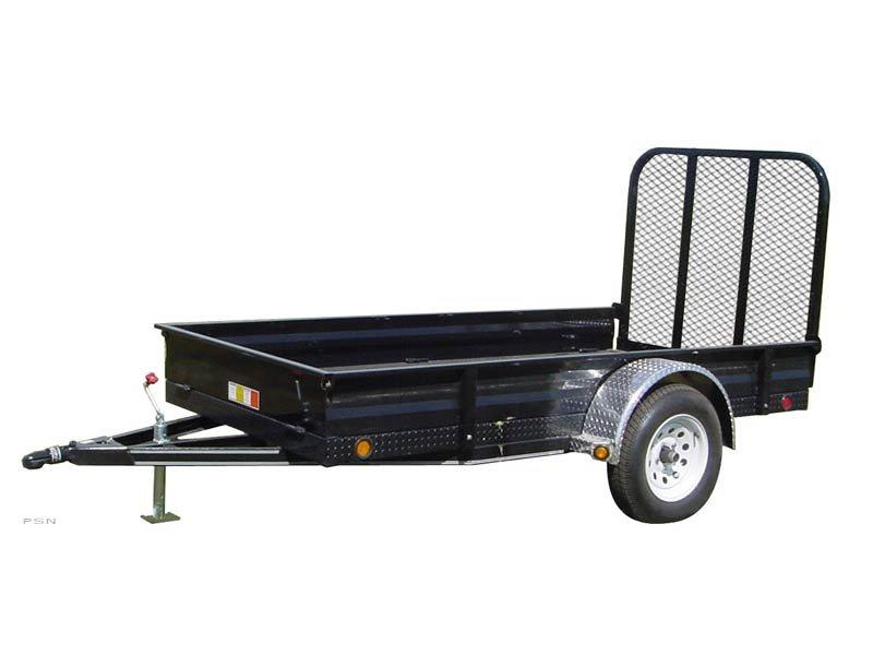 2019 PJ Trailers 60 in. All-Steel Utility (A6) Utility Trailer