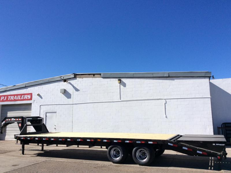 2018 Lamar 25ft Trailers Heavy Duty Deck-Over Flatbed (FS)
