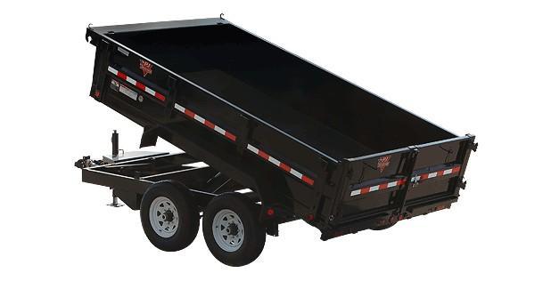 2019 PJ Trailers 83 in. Tandem Axle Dump (D7) Dump Trailer