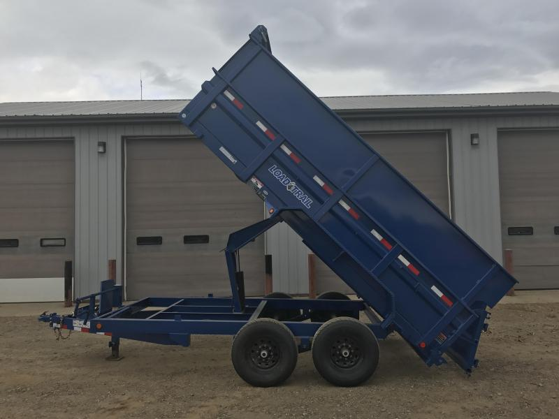 2018 Load Trail 6 Channel Dump Trailer