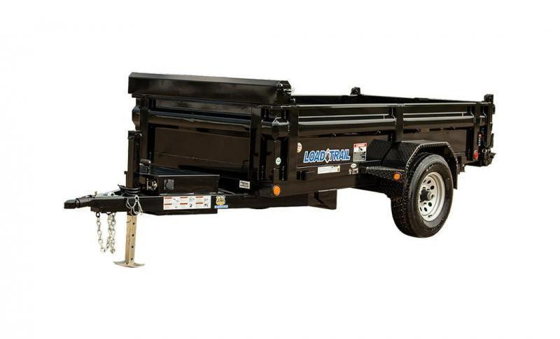"2018 Load Trail DS05 - Single Axle Dump 5200 Lb w/ 4"" Channel Frame"