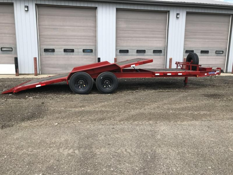 2018 Load Trail Tilt-N-Go Tilt Deck 16000 Lb. w/8 I-Beam Frame Equipment Trailer