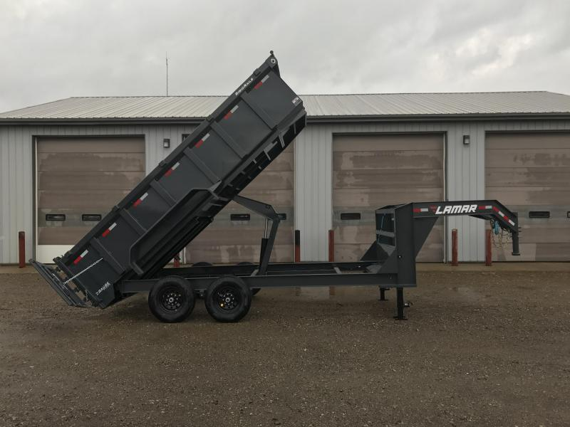 2018 Lamar Trailers 83 X 16 Gooseneck High Side Dump Trailer (DL) Dump Trailer