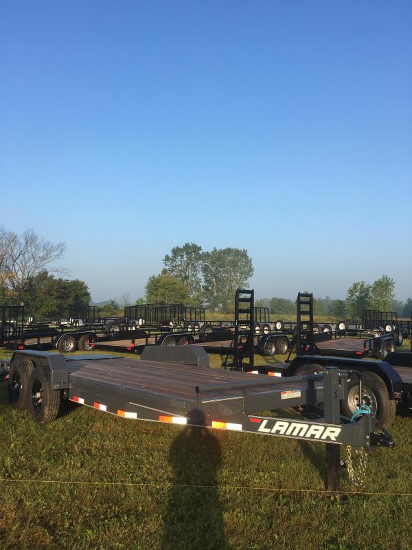2018 20ft Lamar Trailers Heavy Duty Equipment Hauler