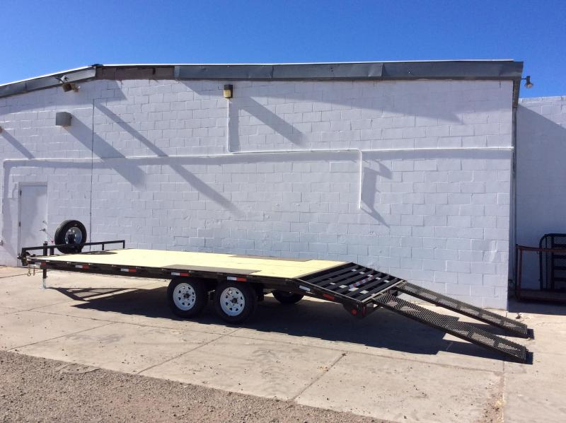 2018 Lamar Trailers Deck-Over Flatbed