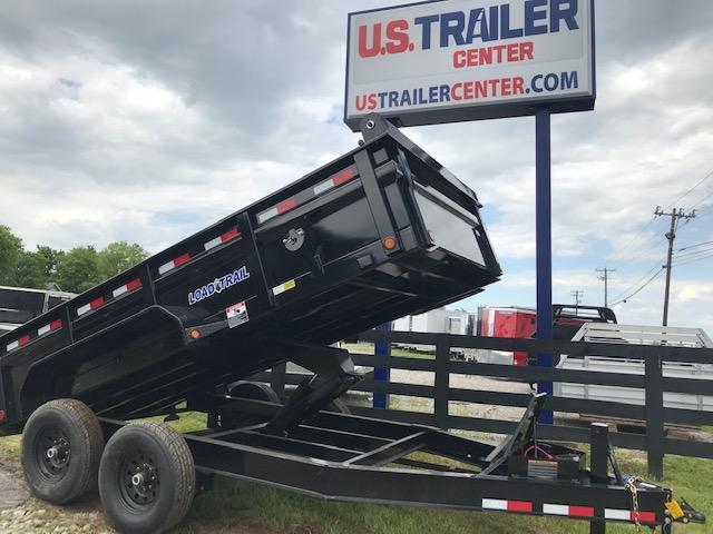 "2019 Load Trail 83"" WIDE DUMP TRAILER WITH RAMPS"