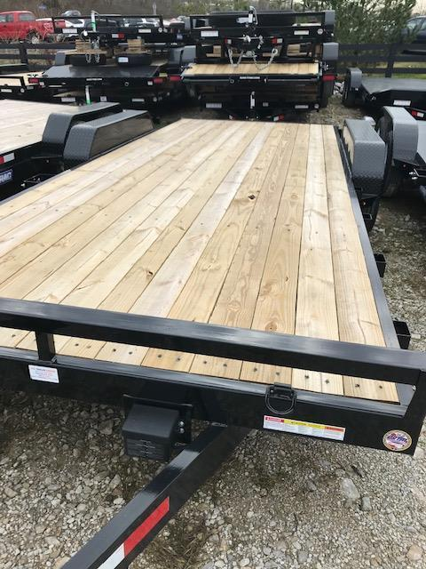 2019 Sure-Trac 7 X 20 Wood Deck Car Hauler Tandem Axle