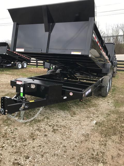 2019 Sure-Trac 82 IN X 14 LP 14K Scissor Dump