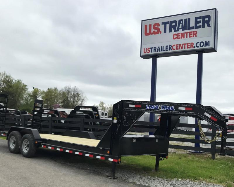 "2019 Load Trail 83"" X 20' Tandem Gooseneck EQUIPMENT TRAILER GOOSENECK CAR HAULER"