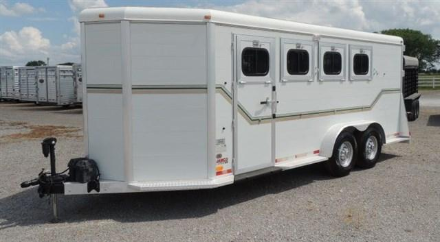 1994 Jamco 4 Horse Bumper Pull Horse Trailer