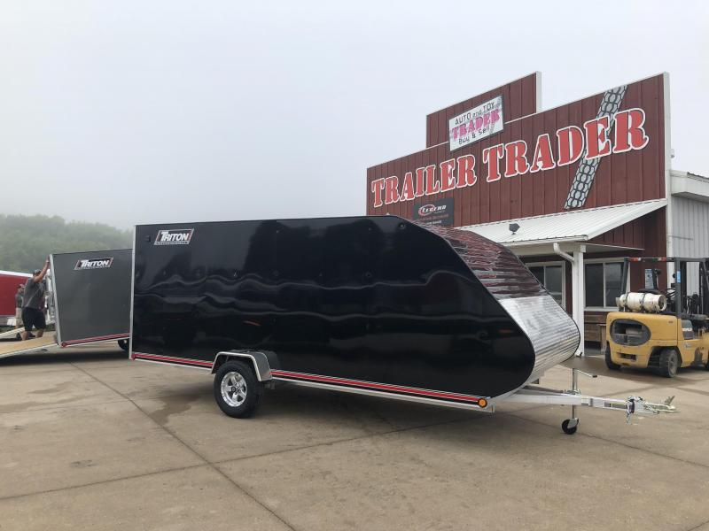 2019 Triton 7X16 Hybrid Snowmobile Trailer