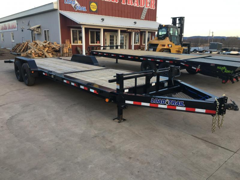 2018 Load Trail 83X24 Gravity Tilt Equipment Trailer