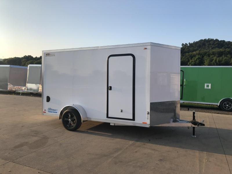 2019 Legend Manufacturing 7X12 Aluminum Enclosed Cargo Trailer