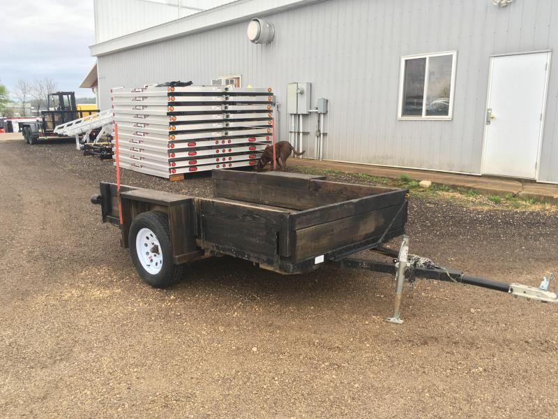 19XX Homemade 4X8 Utility Trailer