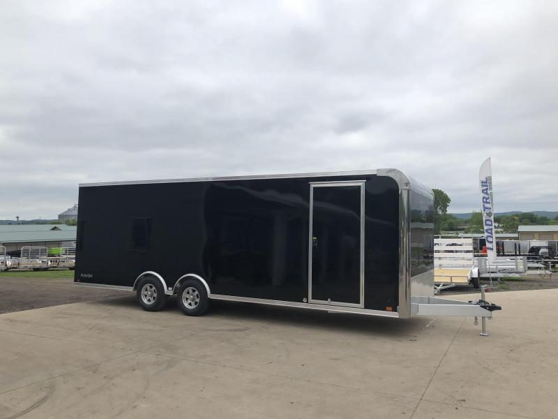 2019 Aluminum Trailer Company 8.5X24 Aluminum Enclosed Cargo Trailer