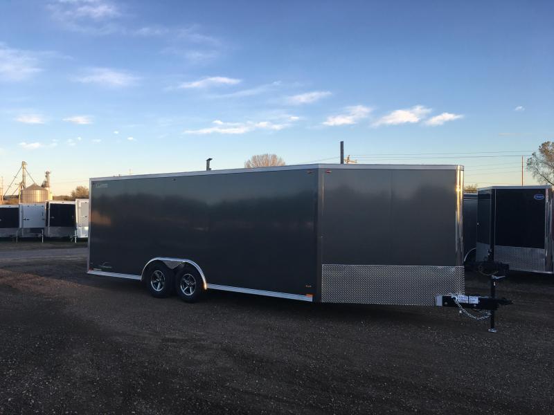 2018 Legend Manufacturing 8.5X26 Aluminum Enclosed Cargo Trailer