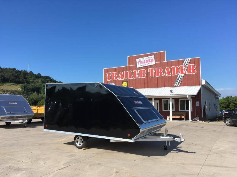 2018 Snopro 101X12 Hybrid Snowmobile Trailer