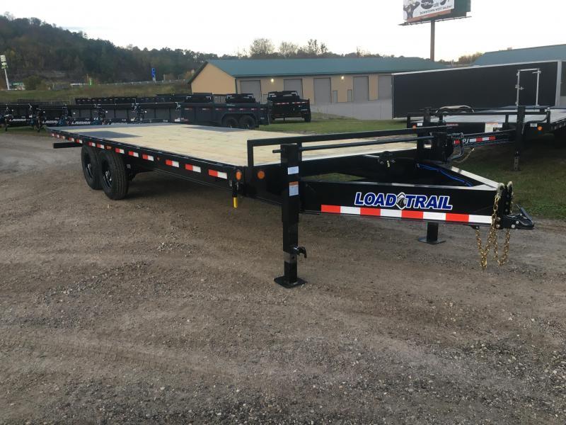 2020 Load Trail 102X24 Power Tilt Equipment Trailer