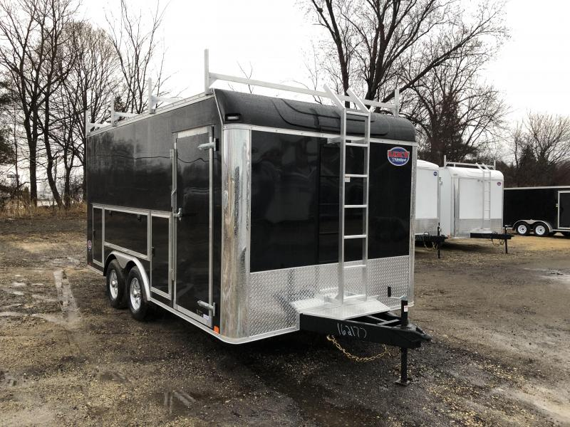 2019 United Trailers 8.5X16 Tool Crib Enclosed Cargo Trailer