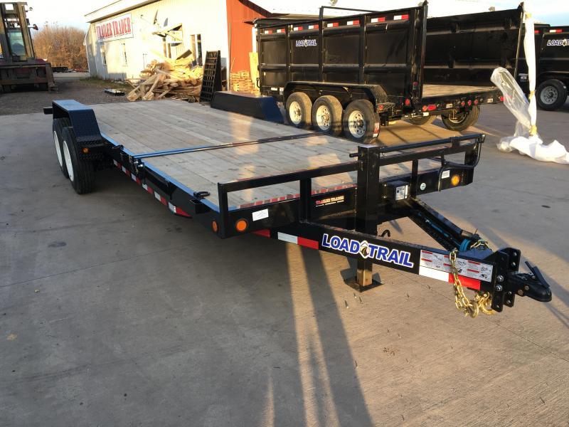 2018 Load Trail 80X22 Gravity Tilt Deck Equipment Trailer