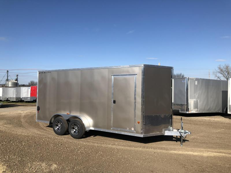 2018 Stealth Trailers 7X16 Aluminum Enclosed Cargo Trailer