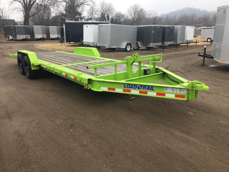 2018 Load Trail 83X22 Gravity Tilt Equipment Trailer