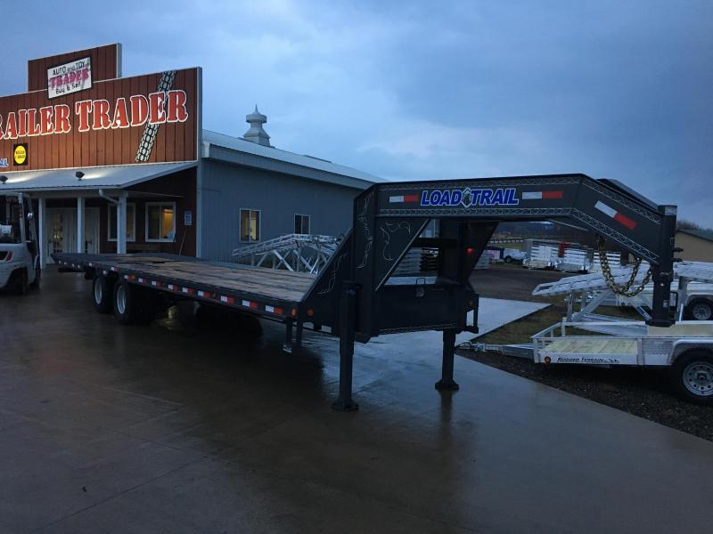 2018 Load Trail 102X32 Gooseneck Hydro Dove Equipment Trailer