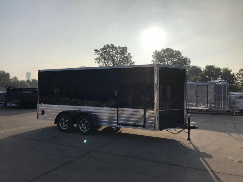2019 United Trailers 7X16 Enclosed Motorcycle Cargo Trailer