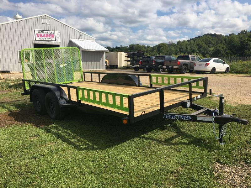 2019 Load Trail 83X14 Tandem Utility Trailer