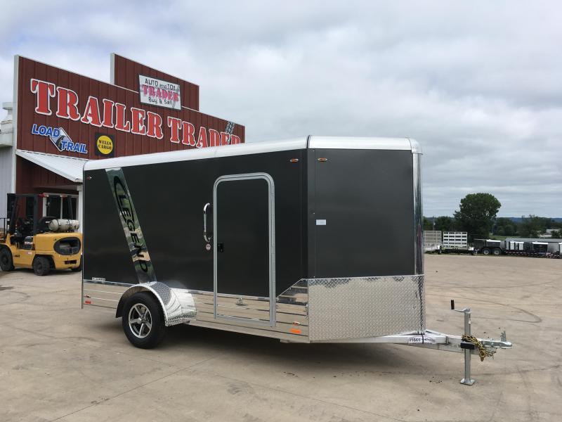 2018 Legend Manufacturing 6X12 Aluminum Cargo 3K Trailer