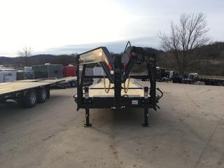 2017 Iron Bull 102x40 Gooseneck Car Hauler 21K