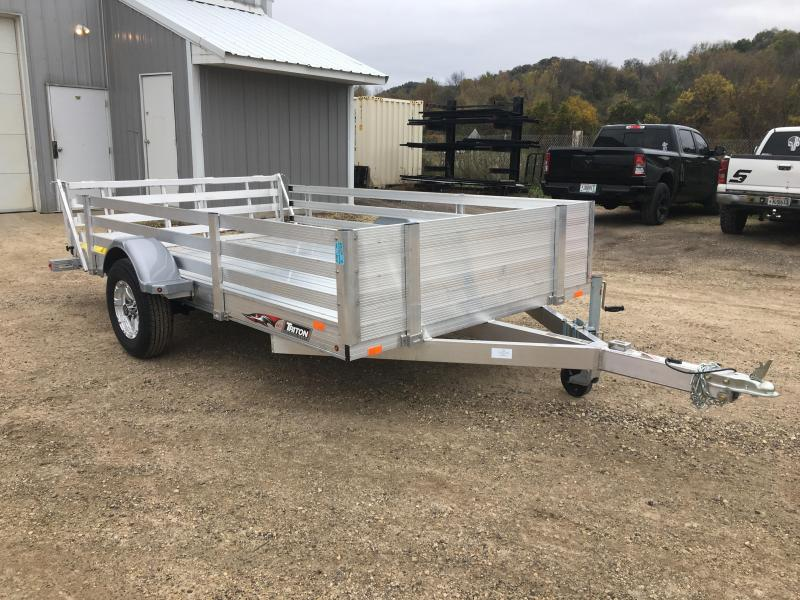 2019 Triton 82X12 Aluminum Utility Trailer