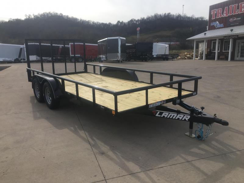 2019 Lamar Trailers 83X16 Tandem Utility Trailer