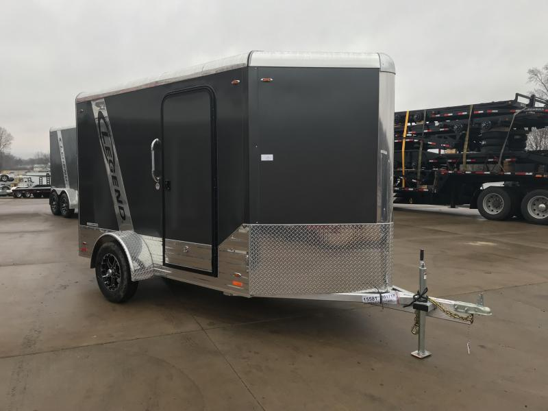 2018 Legend Manufacturing 6X10 Aluminum Enclosed Cargo Trailer