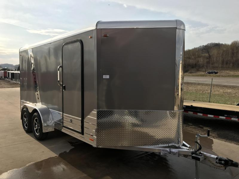 2018 Legend Manufacturing 7X14 Aluminum Enclosed Cargo Trailer