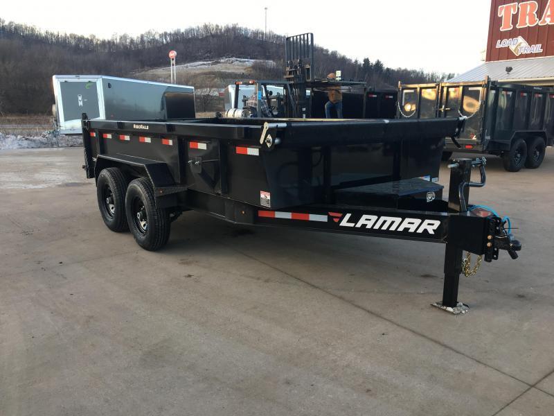 2019 Lamar Trailers 83X14 Low Pro Dump Trailer