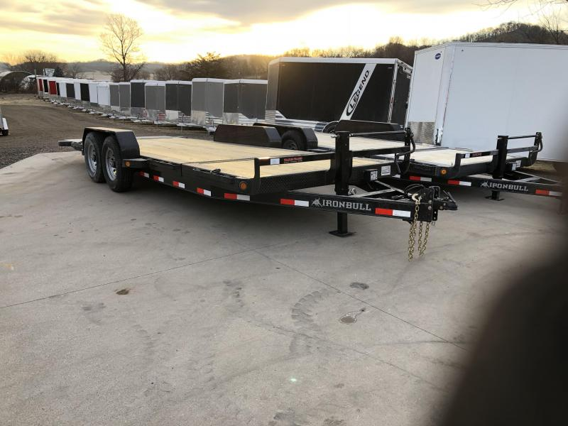 2018 Iron Bull 83X20 Low Pro Tilt Equipment Trailer