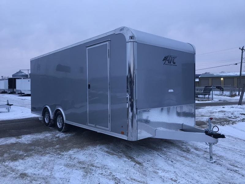 2018 Aluminum Trailer Company 8.5X20 Aluminum Enclosed Cargo Trailer