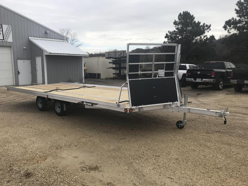 2018 Triton 101X22 4 Place Snowmobile Trailer