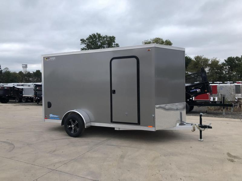 2019 Legend Manufacturing 7X12 Aluminum Enclosed Cargo Trailer